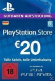 Games Livecard 20 Euro Playstation Network