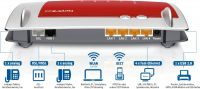 AVM FRITZ!Box 7430-Wireless Router-DSL-4-Port-Switch-802,11b/g/n-2,4GHz-VoIP-Telefonadapter(DECT)(20002733)
